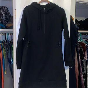 GymShark sweater dress with hood